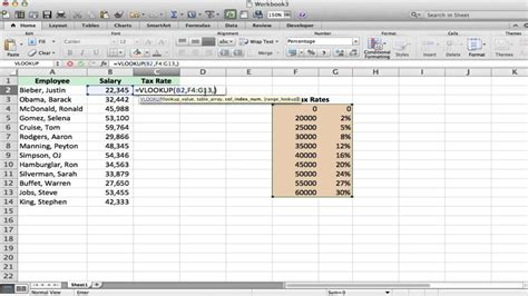 excel vlookup tutorial and exle youtube