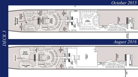 disney cruise floor plans revised deck plans reveal additional disney wonder