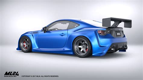 widebody brz ml24 automotive design prototyping and body kits