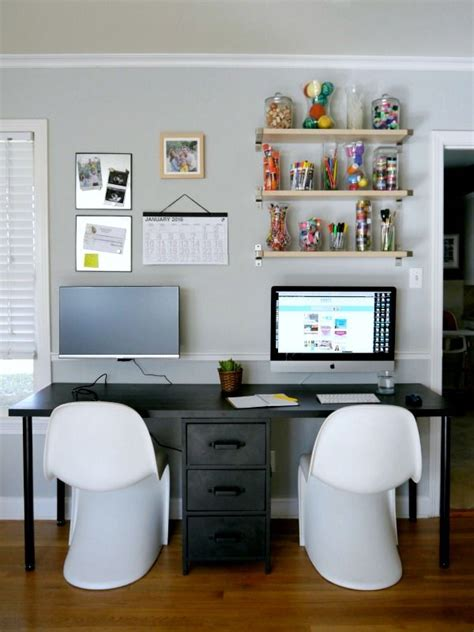 2 Person Desk Ideas 25 Best Two Person Desk Ideas On Pinterest 2 Person Desk Desk Office And Shared Office