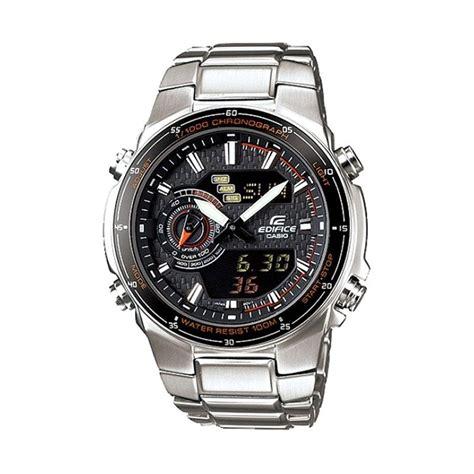 Casio Edifice Efa 100 Silver jual casio edifice efa 131d 1a4 silver jam tangan pria