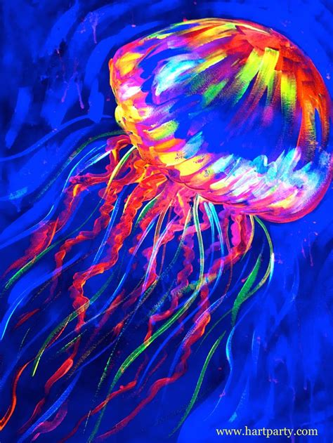black light glow glow jelly on hart with the sherpa blacklight