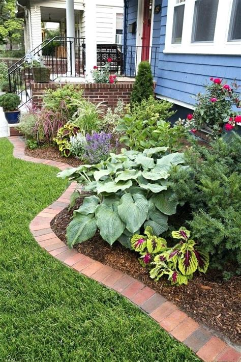 cheap garden border ideas landscaping bed edging inexpensive design  decor  paths flower