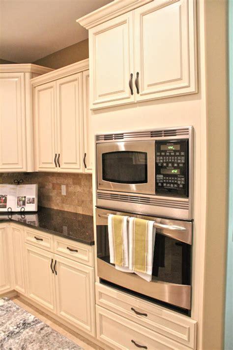 double wall oven cabinet ideas fabuwood cabinetry wellington ivory finish wellington