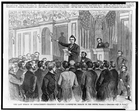 on the house origin impeachment us house of representatives history art archives