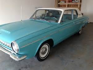 1963 Dodge Dart For Sale Sell Used 1963 Dodge Dart 270 Like New In Port