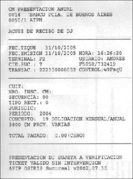 pago de ganancias anual formulario 713 gu 237 a de tr 225 mites lomas de zamora