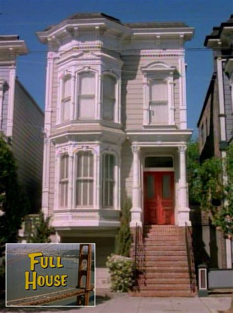 house shows full house the tanner victorian is purple today more