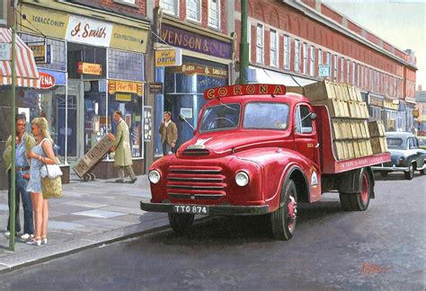 Duvet Covers Uk Online Corona Drinks Lorry Painting By Mike Jeffries