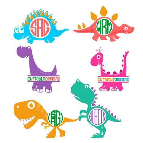 Dino Cut dino dinosaur pack cuttable design