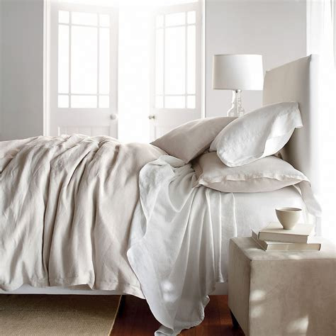 style splurge linen sheets earnest home co - Linen Bedding