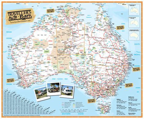 australia tourist map australia travel map