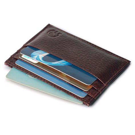 Leather Credit Card Wallet Template Iceinnight Rfid Blocking Wallet Protect Your Card Safe Credit Card Holder Aluminum Leather Mini