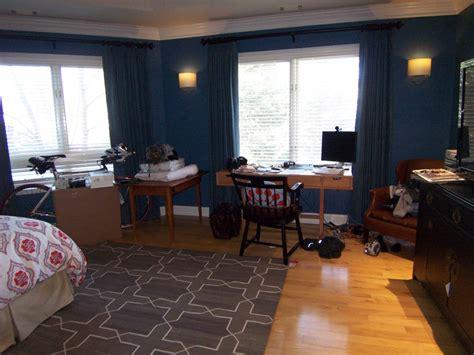 Bedroom Schemes dark walls white trim hmmmm bossy color annie elliott