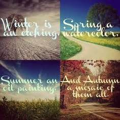 Spring summer fall autumn change quote inspiration sayings verses