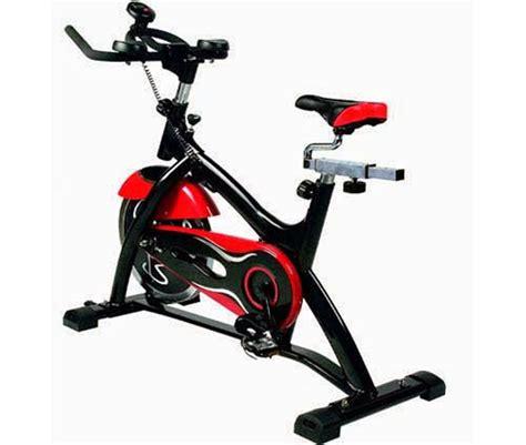 Spinning Bike Sport Hitam Merah harga alat olahraga sepeda statis spinning bike bogor