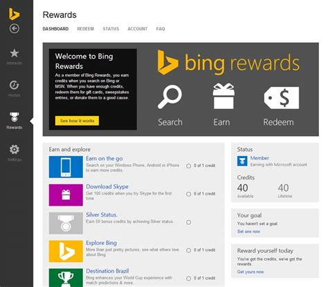 Earn Points For Gift Cards - how to earn more bing rewards points myideasbedroom com