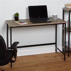 Industrial Writing Desk Simple Living Piazza Wood And Metal Desk Free Shipping