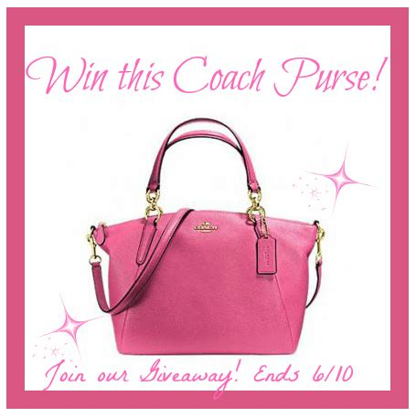 Free Purse Giveaway - may coach purse giveaway it s free at last