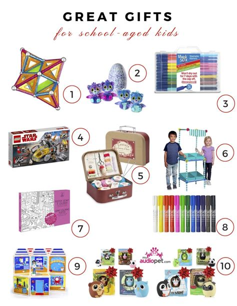 list of gifts to school children gift guide best gifts for school age momtrends