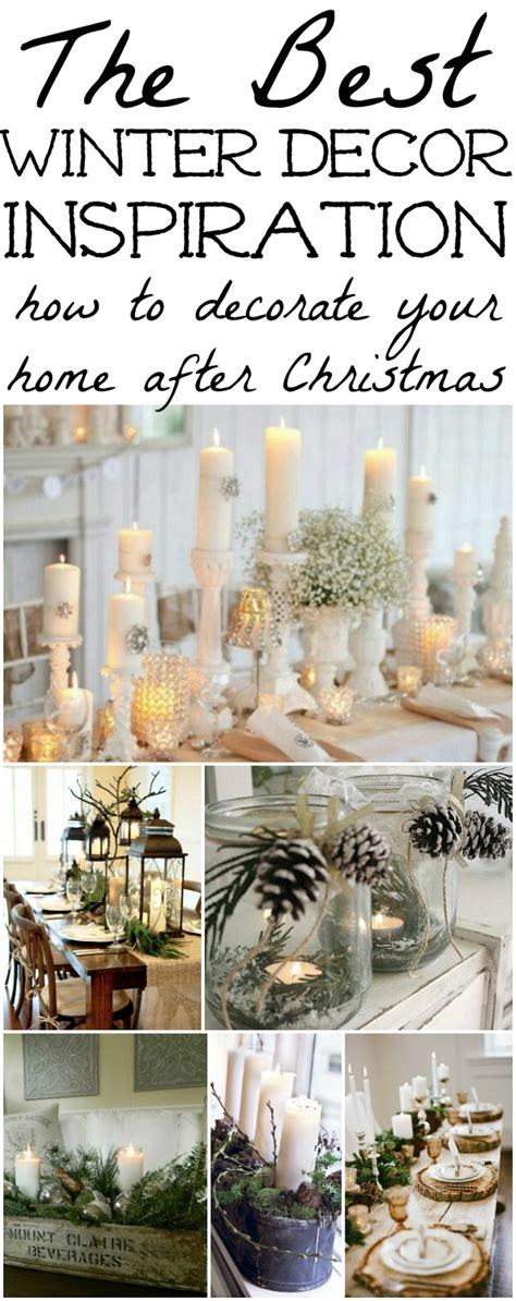 decorations take winter decorations winter table ideas more