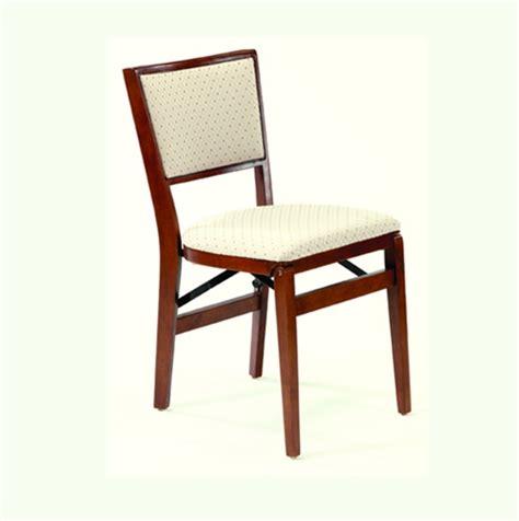 stakmore retro upholstered back folding chair