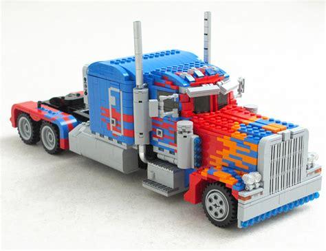 Diy Home Design Software huge lego optimus prime really transforms technabob