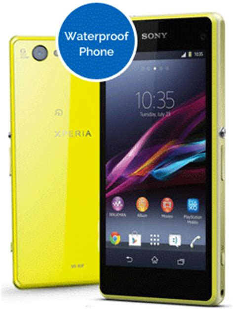 Hp Sony Xperia Z1 Compact sony xperia z1 compact pay monthly contracts and deals