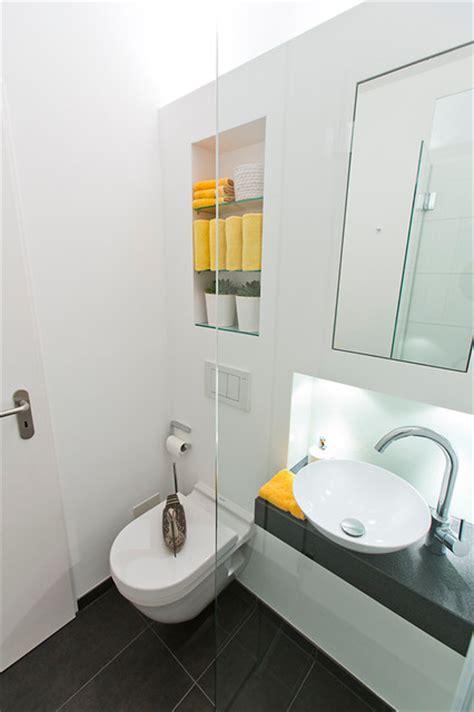 dusche ideen für ein kleines badezimmer ideen f 252 r kleine b 228 der g 228 ste wc mit dusche modern