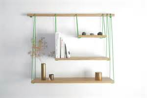 Living Dining And Kitchen Design simple and elegant shelving unit inspired by suspension