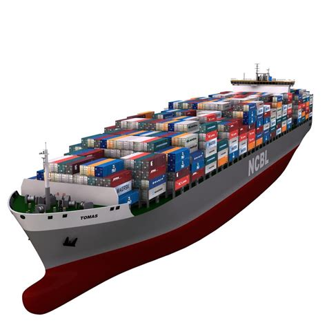 express boat transport reviews 3d container vessel cargo model