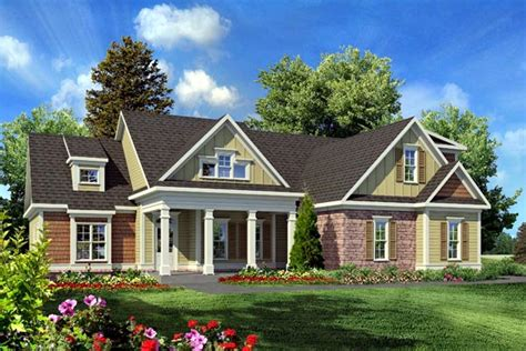 traditional craftsman house plans house plan 58231 at familyhomeplans