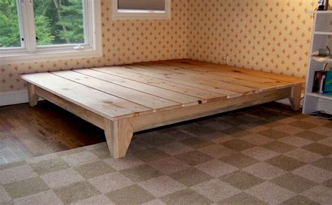 lowes schlafzimmermöbel king size platform frame put 2 size matresses on