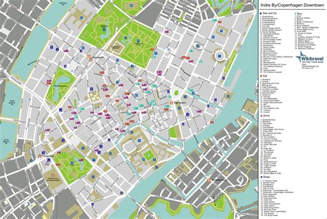 copenhagen map large detailed tourist map of copenhagen city center copenhagen city center large detailed