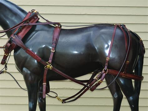 sleigh harness 1880 s style team harness with wood hames harness collars sleigh bells hansen wheel and wagon