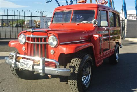 Jeep Hurricane For Sale 1956 Jeep Willys Wagon Hurricane 4x4 For Sale