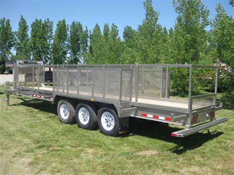 mustang trailers flatdeck trailer 22 171 171 mustang trailers mustang trailers