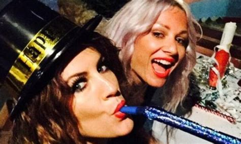 latest hairstyles 2015 daily mail caroline flack welcomes in the new year with harry styles