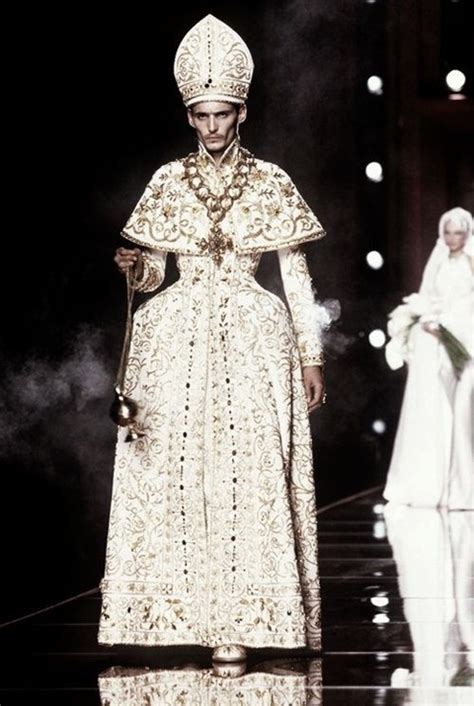 jean paul gaultier for christian dior let s get spiritual five times religion inspired the
