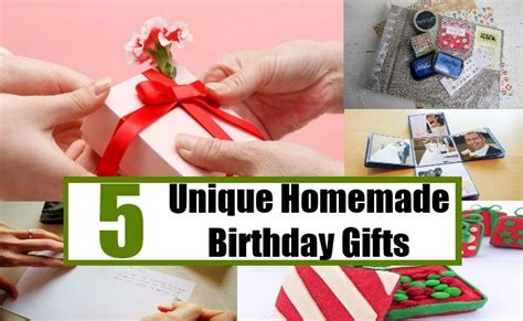 special homemade gifts 5 unique birthday gifts creative birthday gift ideas bash corner