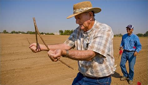 on parched farms using intuition to find water nytimes com