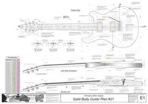 solid body electric guitar plans 21 electronic version