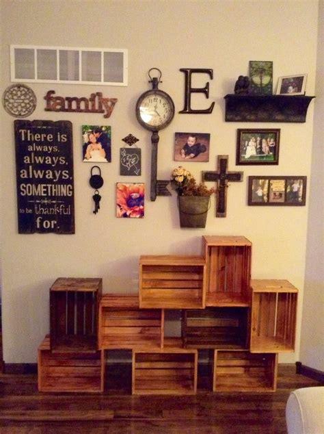 wall decor ideas  living room pinterest