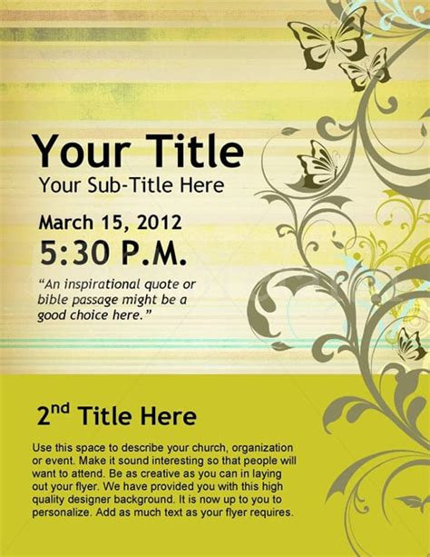 6 Event Flyer Templates Word Excel Pdf Templates Event Flyer Template Word
