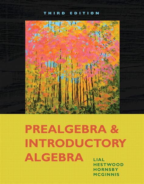 Prealgebra 4th Edition lial hestwood prealgebra and introductory algebra 4th
