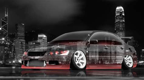 jdm tuner cars 4k mitsubishi lancer evolution jdm tuning crystal city car