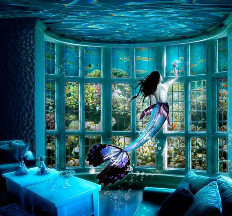 Mermaid S House By Chihir0 Chan On Deviantart