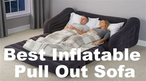 blow up pull out couch inflatable pull out sofa review best blow up couch bed