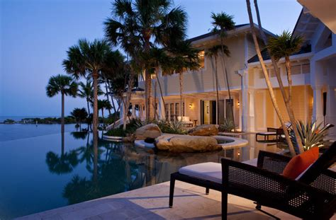 key west cabana key west style interiors and homes sophisticated key west style tropical pool other