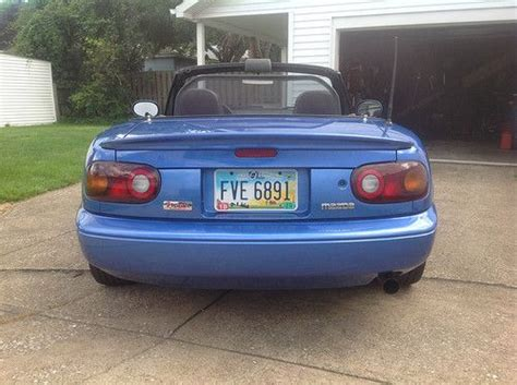 mazda convertible blue buy used 1994 mazda miata base convertible 2 door laguna